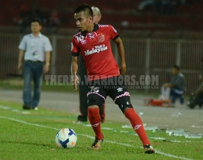 Giliran The Red Warriors tunjuk kekuatan pasukan pantai timur